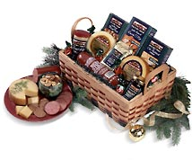 Hickory Farms Beef and Cheese Gift Baskets